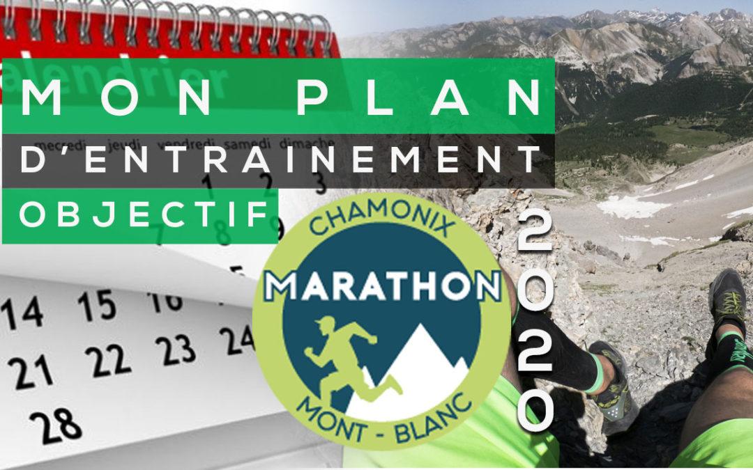 MON PROGRAMME D'ENTRAINEMENT TRAIL RUNNING POUR LE MARATHON DU MONT BLANC 2020